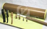Cinta da alta temperatura de la fibra de vidrio revestida del Teflon de PTFE