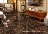 Mosaico de Foshan materiales de construcción de la luz de todo el cuerpo de porcelana esmaltada Pulido Baldosa Chocolate (BMG17P)