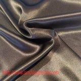Tessuto del poliestere del raso per la tessile della casa di usura di svago della camicia di vestito pieno