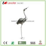 Figurine decorativo do pássaro do metal para os ornamento Home da decoração e do jardim