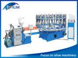Máquina ocasional da injeção do MERGULHO das sapatas dos esportes da lona semiautomática de Starlink/Xingzhong