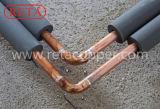 Schwarze Isolierungs-überzogenes kupfernes Rohr