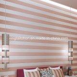 Material de construcción de pared de revestimiento de fibra de vidrio en relieve damasco Wallpaper Floral