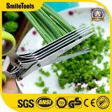 Multi функциональные ножницы вырезывания кухни с ручкой PP