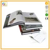 Книга книга в твердой обложке нестандартной конструкции офсетной печати верхнего качества