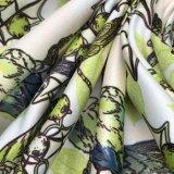 50d * 75D Semigloss False Twist Satin imprimé numérique pour habiller