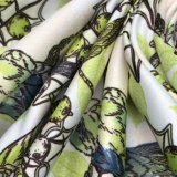 falscher Torsion-Digital gedruckter Satin des Semigloss-50d*75D für das Kleiden