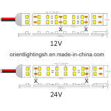Doppia riga striscia impermeabile dell'UL di SMD1210 (3528) IP66 240LEDs LED
