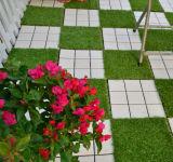 Tuile synthétique de Decking d'herbe de vert perméable de support pour le jardin