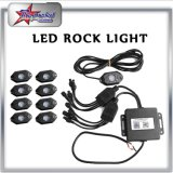 Bluetooth Control 4/6/8/12 Pods Kit RGB LED Rock Light pour voiture