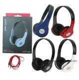 Fone de ouvido com fone de ouvido com fone de ouvido com fio Fone de ouvido para música de computador Reproduzir MP3 / MP4 Player