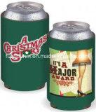 Het promotie In het groot Bier van het Neopreen van de Douane Embleem Geïsoleerdea kan Koeler