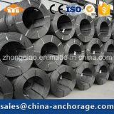 Applicazione del ponticello che precomprime filo d'acciaio 15.24mm