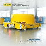Guia de trilho manual de transferência de material elétrico Bogie