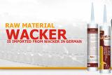 Sealant силикона пользы долгого времени кисловочный для большой стеклянной ненесущей стены