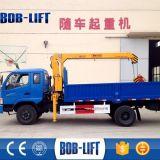 Grúa montada camión hidráulico del carro del auge