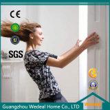 La province de Guangdong salle Bi-Folding MDF porte avec placage de peinture naturelle