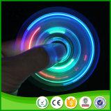 Fidget LED Plastic EDC Hand Spinner para brinquedos anti stress