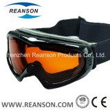 Lunettes antibrouillard de neige de qualité de doubles lentilles de Reanson