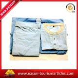 Bathrobe/pijama/Nightwear relativos à promoção do algodão, pijamas baratos da linha aérea