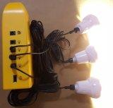 Beweglicher Solaraufladeeinheits-Beleuchtung-Installationssatz mit Radio