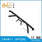 Blocco per grafici di titanio di vetro ottici di Eyewear del monocolo di modo (T9073-C1)