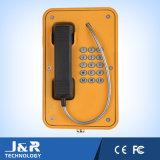 Telefone à prova d'água do túnel, IP67 Telefone externo Telefone de emergência industrial VoIP