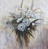 Heißer Verkaufs-handgemachtes Ölgemälde mit schöner Blumen-Art