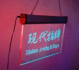Personalizzare il blocco per grafici magnetico illuminato acrilico della foto della radura della maschera del plexiglass