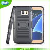 Dekking van het Geval van de Telefoon van de Cel van het Holster Combo van het Ontwerp van de hoogste Kwaliteit de Schokbestendige voor Samsung S8