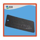 Étiquette du fabriquant d'impression de vêtement de noir de Web de miel