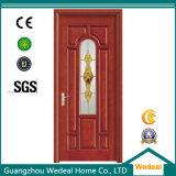 Personalizar el interior de madera laminado compuesto de PVC puerta