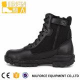 De zwarte Hete Laarzen van de Politie van de Stijl Militaire Tactische