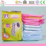 Serviettes hygiéniques chaudes de vente pour des filles/Madame
