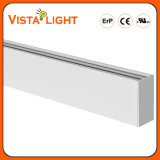 Impermeable 100-277V colgante Lightlinear tira de LED para oficinas