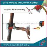 銅および真鍮の管ろう付け機械Spy2-10移動式誘導電気加熱炉