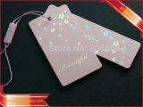 Modifica di carta di caduta del Hangtag per l'indumento