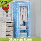 DIY تصميم أثاث غرف النوم بسيطة خزانة قماش طوي