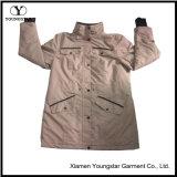 Ys-1076冬の人メンズのためのWindstopperによって並べられるSoftshellのジャケット