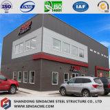 Sinoacme a préfabriqué la construction de centre de sports de structure métallique