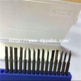Gicleur de guide de câblage d'enroulement de bobine du gicleur de carbure de tungstène (W1243-4-2515)