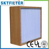 Rectángulo del filtro del aire HEPA para el uso industrial
