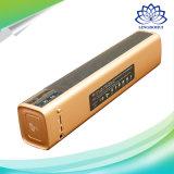 Schwarzes und Lautsprecher USB-im Freienlautsprecher des GoldNFC Bluetooth