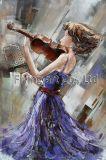 Wand-Kunst des Metall3d für Ballett-Mädchen