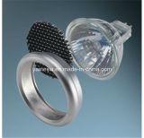 Iluminação de lâminas de favo de mel circular em alumínio