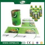 ярлык втулки Shrink печатание 9-Color для пластичной бутылки