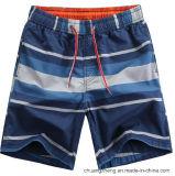 포켓을%s 가진 Boardshorts 수영장이 남자의 빠른 건조한 바닷가에 의하여 누전한다