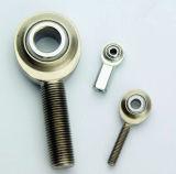Rosqueie as extremidades da haste do cilindro pneumático em uma elevada precisão