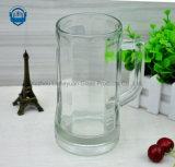 стекло высокой ранга 600ml, высоко ясность, чашка стекла пива с ручкой