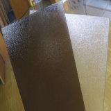 パソコンのシャワーの壁のための物質的なプラスチック装飾的な水晶固体表面シート